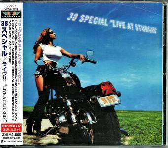 38 Special - Live At Sturgis (1999) [Japanese Ed. 2000]
