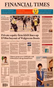 Financial Times Europe – 12 November 2019