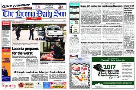The Laconia Daily Sun – September 19, 2017