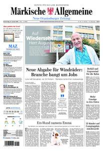 Neue Oranienburger Zeitung - 31. Januar 2019