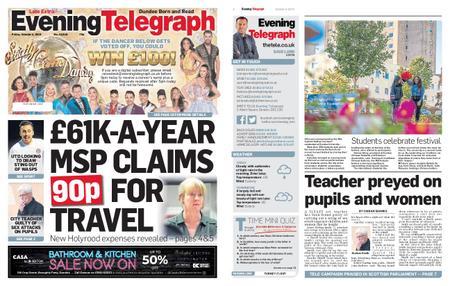 Evening Telegraph First Edition – October 04, 2019