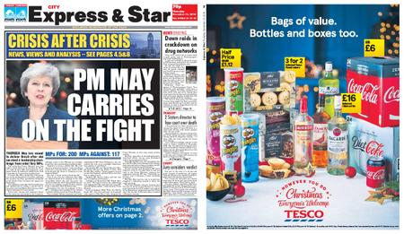 Express and Star City Edition – December 13, 2018