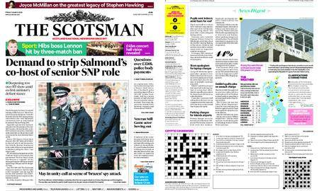 The Scotsman – March 16, 2018