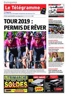 Le Télégramme Guingamp – 06 juillet 2019