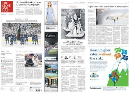The Globe and Mail – May 21, 2018