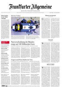 Frankfurter Allgemeine Zeitung - 27 November 2020