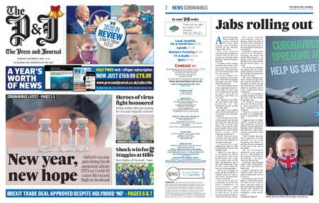 The Press and Journal Moray – December 31, 2020
