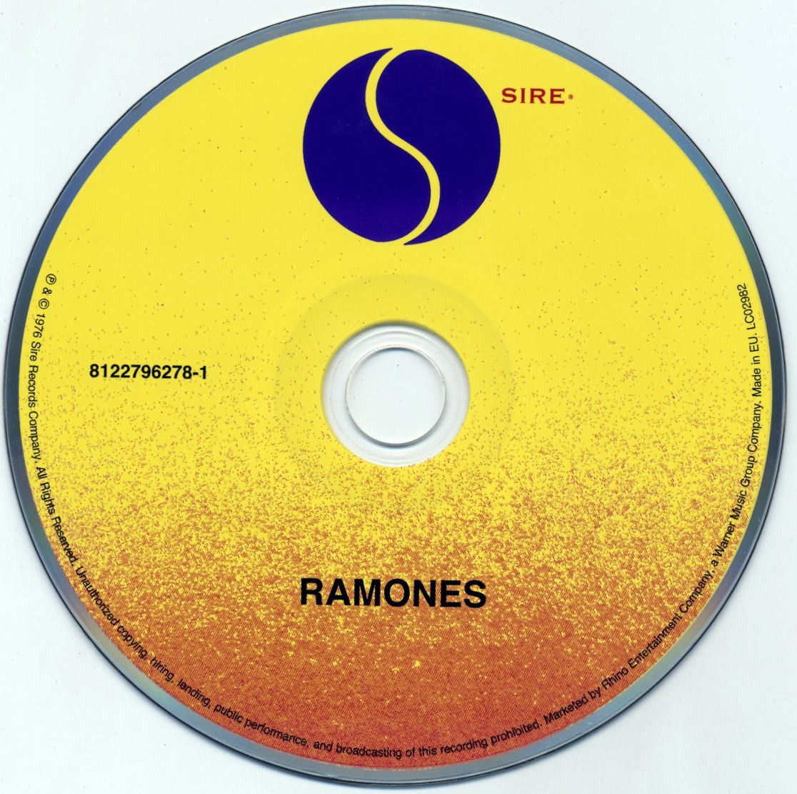 Ramones The Sire Years 1976 1981 2013 6cd Box Set