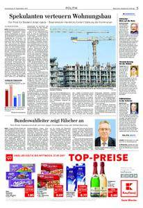 Märkische Allgemeine Zossener Rundschau - 21. September 2017