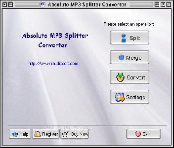 Absolute MP3 Splitter & Converter ver. 2.5.1