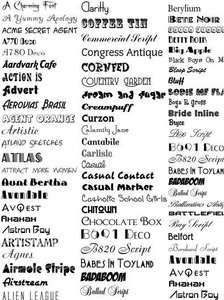 10000 Huge Collection of Fonts