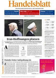 Handelsblatt - 17. Oktober 2017