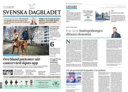 Svenska Dagbladet – 25 mars 2020