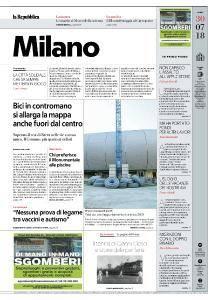 la Repubblica Milano - 30 Luglio 2018