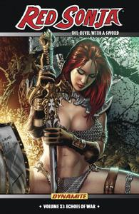 Dynamite-Red Sonja She Devil With A Sword Vol 11 Echoes Of War 2020 Hybrid Comic eBook