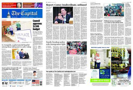 The Capital – June 15, 2018