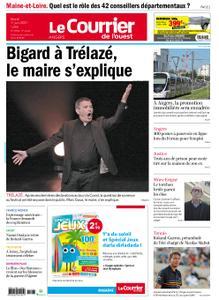 Le Courrier de l'Ouest Angers – 01 juin 2021