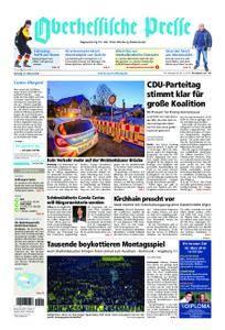 Oberhessische Presse Marburg/Ostkreis - 27. Februar 2018