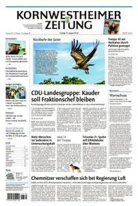 Kornwestheimer Zeitung - 31. August 2018