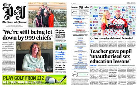 The Press and Journal Moray – March 20, 2019