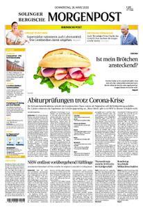 Solinger Morgenpost – 26. März 2020