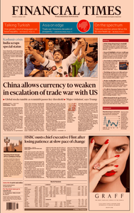 Financial Times UK – 06 August 2019