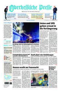 Oberhessische Presse Marburg/Ostkreis - 06. Februar 2018