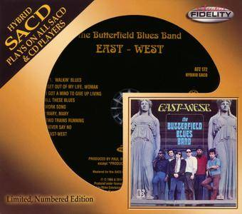 The Butterfield Blues Band - East-West (1966) [2014, Audio Fidelity AFZ 172] Repost