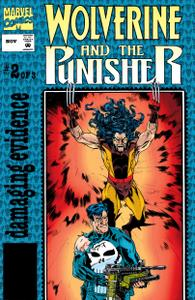 Wolverine and the Punisher-Damaging Evidence 002 1993 Digital Shadowcat