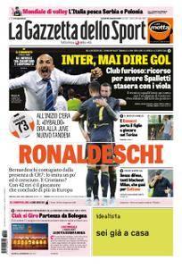 La Gazzetta dello Sport Sicilia – 25 settembre 2018