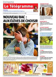 Le Télégramme Guingamp – 02 mai 2019