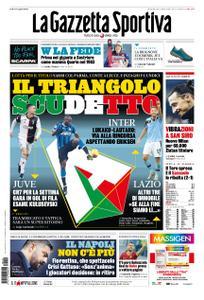 La Gazzetta dello Sport Roma – 19 gennaio 2020