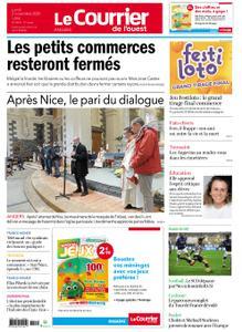 Le Courrier de l'Ouest Angers – 02 novembre 2020