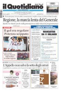 il Quotidiano del Sud Basilicata - 23 Maggio 2019