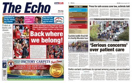 Evening Echo – August 09, 2021