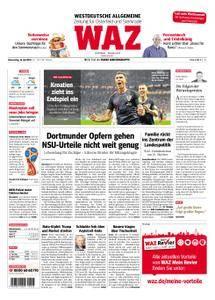 WAZ Westdeutsche Allgemeine Zeitung Oberhausen-Sterkrade - 12. Juli 2018