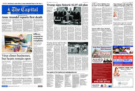 The Capital – March 28, 2020