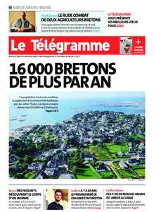 Le Télégramme Brest Abers Iroise – 31 décembre 2019
