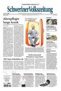Schweriner Volkszeitung Hagenower Kreisblatt - 03. August 2018