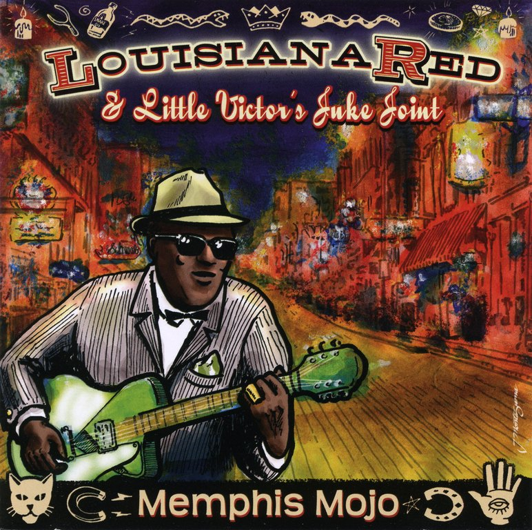 Louisiana Red & Little Victor's Juke Joint - Memphis Mojo (2011)