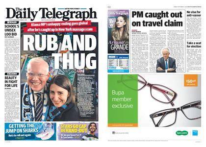 The Daily Telegraph (Sydney) – September 01, 2017