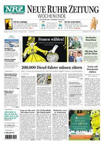 NRZ Neue Ruhr Zeitung Essen-Postausgabe - 10. November 2018