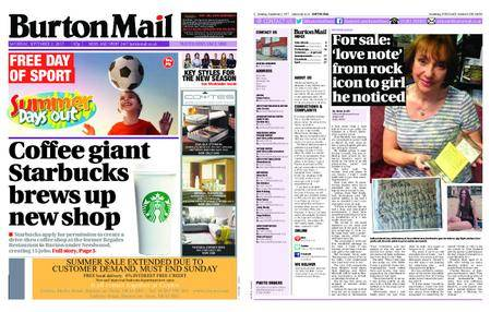 Burton Mail – September 02, 2017