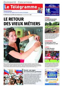 Le Télégramme Concarneau – 11 août 2019
