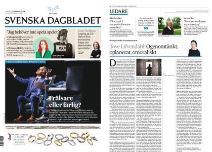 Svenska Dagbladet – 21 oktober 2018