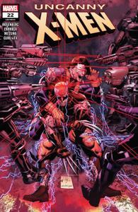 Uncanny X-Men 22 2019 digital Glorith
