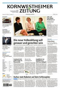 Kornwestheimer Zeitung - 18. Juli 2019