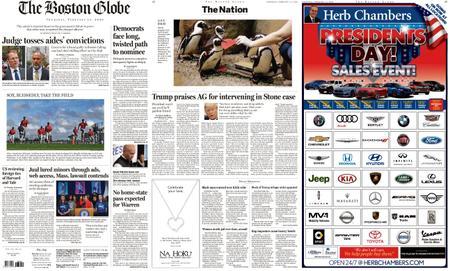 The Boston Globe – February 13, 2020