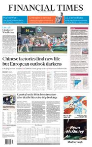 Financial Times Europe - April 1, 2020