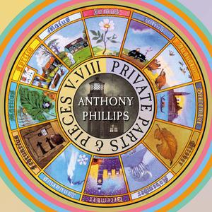 Anthony Phillips - Private Parts And Pieces V-VIII (Deluxe Clamshell 5CD Box Set, 2018)